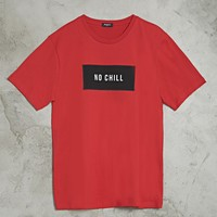 No Chill Graphic Tee