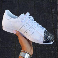 Adidas Originals Superstar 80s Metal Toe More