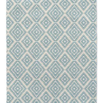 SUMATRA AQUA Area Rug By Becky Bailey