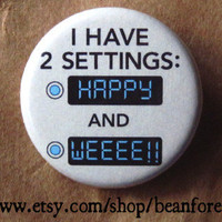 two settings - pinback button badge