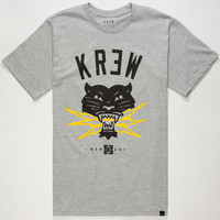 Kr3w Bolt Mens T-Shirt Heather  In Sizes