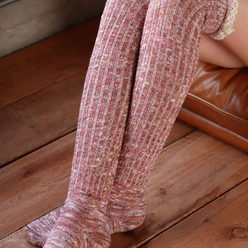 Boot Socks - Red