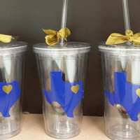 I <3 My State Tumbler Cup, Personalized State Tumbler Cup Favors, Kids and Adult Parties/Events, Completely Custom
