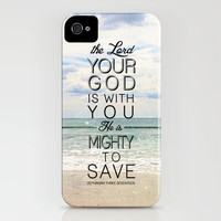 Zephaniah 3:17 iPhone Case by Pocket Fuel | Society6