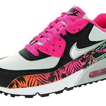 Nike Air Max 90 Print (GS) Girls Running Shoes womens nike air max 90