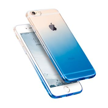 Case for iPhone 6 6s 4.7' / 6 Plus 6s Plus 5.5' 7 TPU Case Soft Dual Silicon Cover for iPhone 6s
