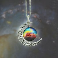 Moon Galaxy Necklace & Pendant