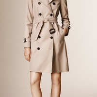 The Westminster - Long Heritage Trench Coat Stone | Burberry