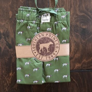 Southern Point - Signature Greyton Youth Lounge Pants - Green