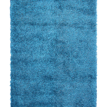 The Rug Market Coral Hand-Tufted Rug - Teal