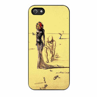Salvador Dali Woman With Flower Head iPhone 5 Case