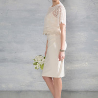 Beyond the Bells Lace Dress in Ivory | Mod Retro Vintage Dresses | ModCloth.com