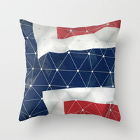 Flag of Norway Throw Pillow by Msimioni | Society6