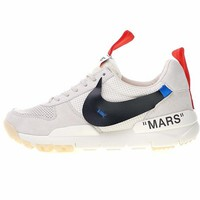 "Moon Landing x Tom Sachs x NikeCraft Mars Yar 2.0 ""OW Beige"" Running Shoes AA2261-007"