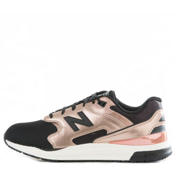 New Balance for Women: 1550 Molten Metals Metallic Rose with Black Sneakers