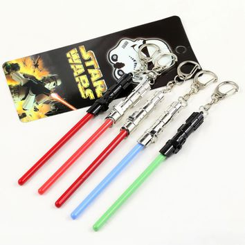 Star Wars keychain Lightsaber collectibles