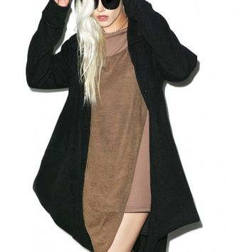 MNML Hawt Hooded Cardigan | Dolls Kill