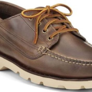 Sperry Top-Sider Ranger Moc 4-Eye by Made in Maine NaturalLeather, Size 12M  Men's Shoes