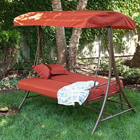 Coral Coast Siesta 3 Person Canopy Swing Bed