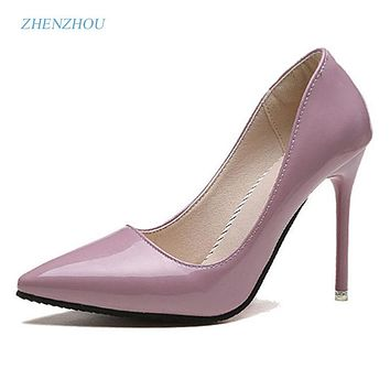 Pumps Spring Autumn Pointed Women high heels shoes