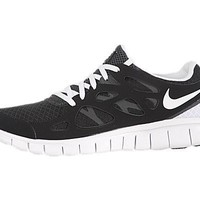 Nike Womens Nike Free Run +2 Black/White Anthracite Running Shoes US 10 NIB