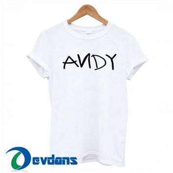 Andy Font T Shirt Women And Men Size S To 3XL   Andy Font T Shirt