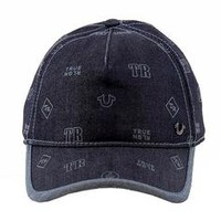 Joylot.com True Religion Men's Logo Pattern Adjustable Baseball Hat (One Size Fits Most) 531297550