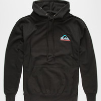 Quiksilver Everyday Blend Mens Hoodie Black  In Sizes