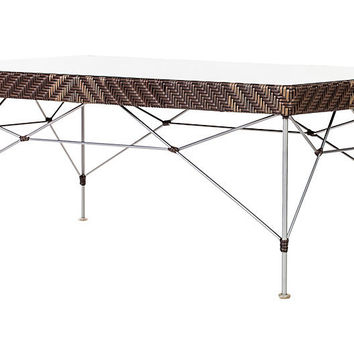 Kyoto Outdoor Coffee Table, Cappuccino | One Kings Lane