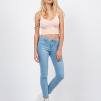 Classic Crop Skinny Jeans