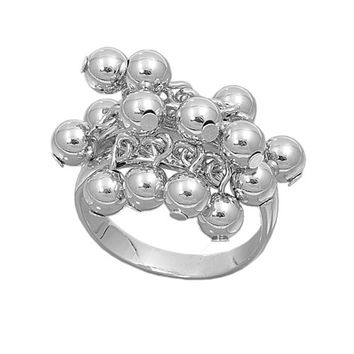 925 Sterling Silver Fruits of the Poisonous Tree Ring