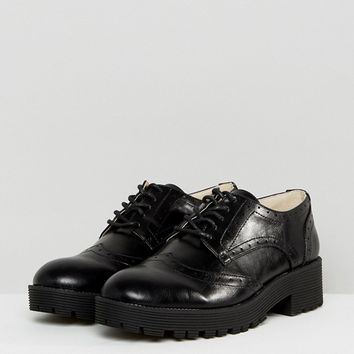 London Rebel Lace Up Brogue Shoe at asos.com