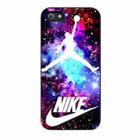 jordan nebula galaxy nike cases for iphone se 5 5s 5c 4 4s 6 6s plus