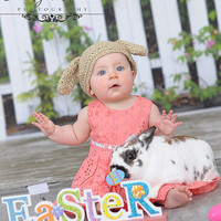 Lop Eared Bunny Hat - Custom Color