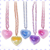 Magic Girl Heart Necklace