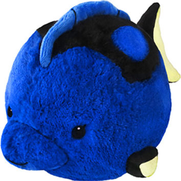 Squishable Blue Tang Fish: An Adorable Fuzzy Plush to Snurfle and Squeeze!