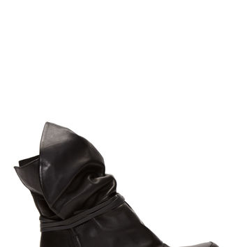 Ca By Cinzia Araia Black Leather Moon Boots