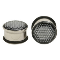 Bring Me The Horizon Steel Sempiternal Eyelet Plug 2 Pack