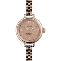 SHINOLA - S0200009 Unisex Birdy gold-tone stainless steel watch | Selfridges.com