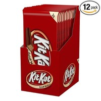 KIT KAT Bar (Extra Large, 4.5-Ounce Bars, Pack of 12)