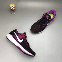 """""""NIKE"""" Fashion Casual Multicolor Knit Fly Line Sneakers Women Running Shoes"""