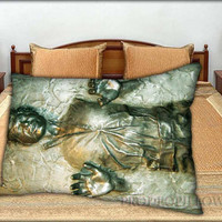 """Han Solo Frozen - 20 """" x 30 """" inch,Pillow Case and Pillow Cover."""