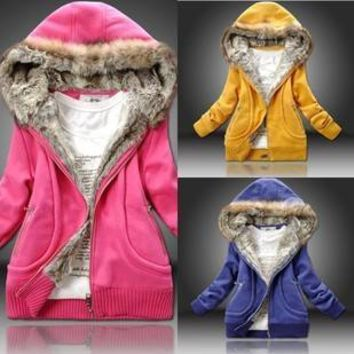 Hoodies Cotton Hats Jacket [45261881369]