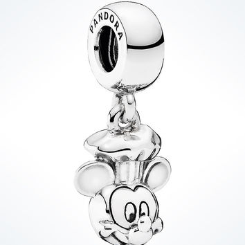 Disney Parks Sterling Silver Mickey Chef Charm Pandora New