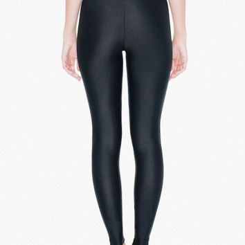 Nylon Tricot High-Waist Leggings | American Apparel