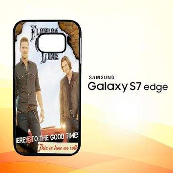 Florida Georgia Line X0353 Samsung Galaxy S7 Edge Custom Case