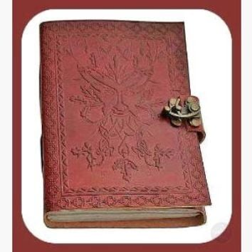 Greenman Latched Leather Journal