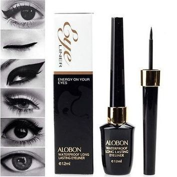 Liquid Eyeliner Waterproof Eye Liner Pencil Pen Black Make Up Comestics Set [8833995532]