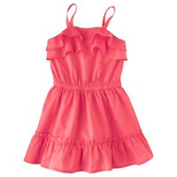 Cherokee® Infant Toddler Girls' A Line Dress - Coral