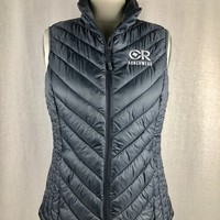 Women's CR Slate Gray Down Vest